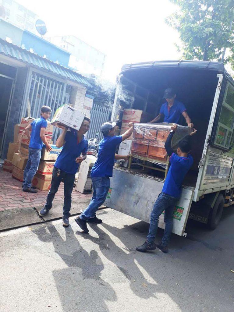 dịch vụ vận chuyển nhà, kho xưởng, văn phòng, taxi tải giá rẻ tp hcm Sài Gòn Xanh 8