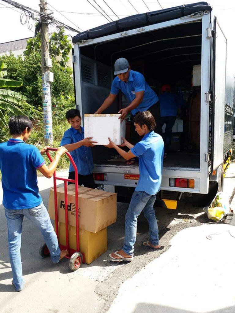 dịch vụ vận chuyển nhà, kho xưởng, văn phòng, taxi tải giá rẻ tp hcm Sài Gòn Xanh 6