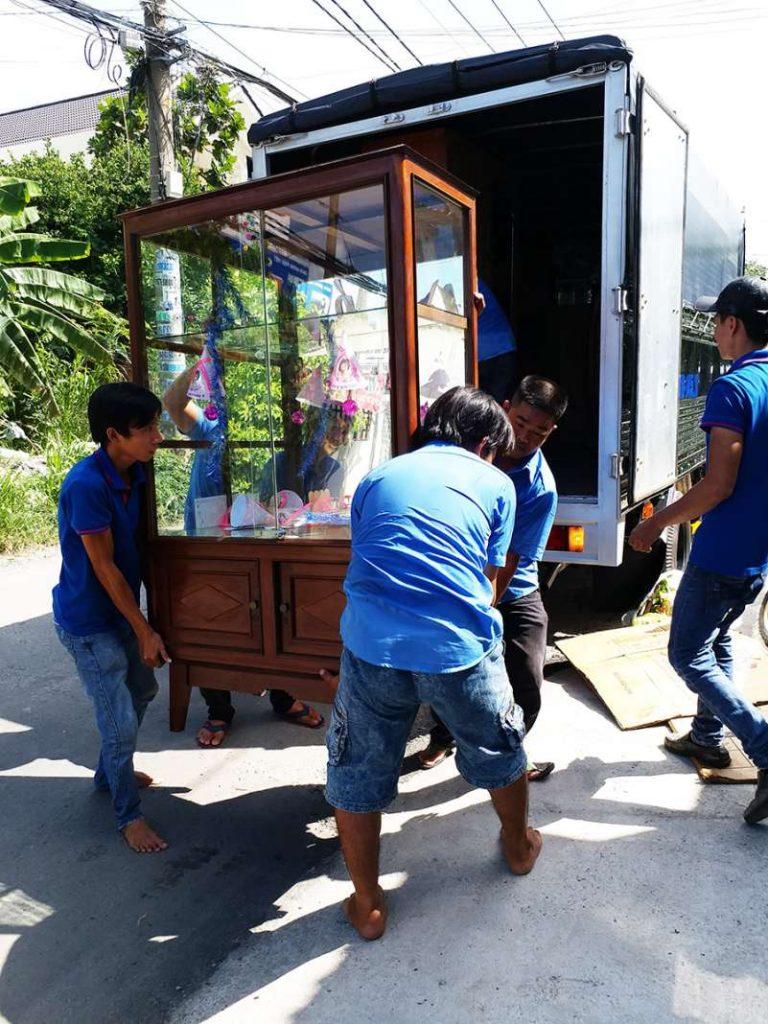 dịch vụ vận chuyển nhà, kho xưởng, văn phòng, taxi tải giá rẻ tp hcm Sài Gòn Xanh 5