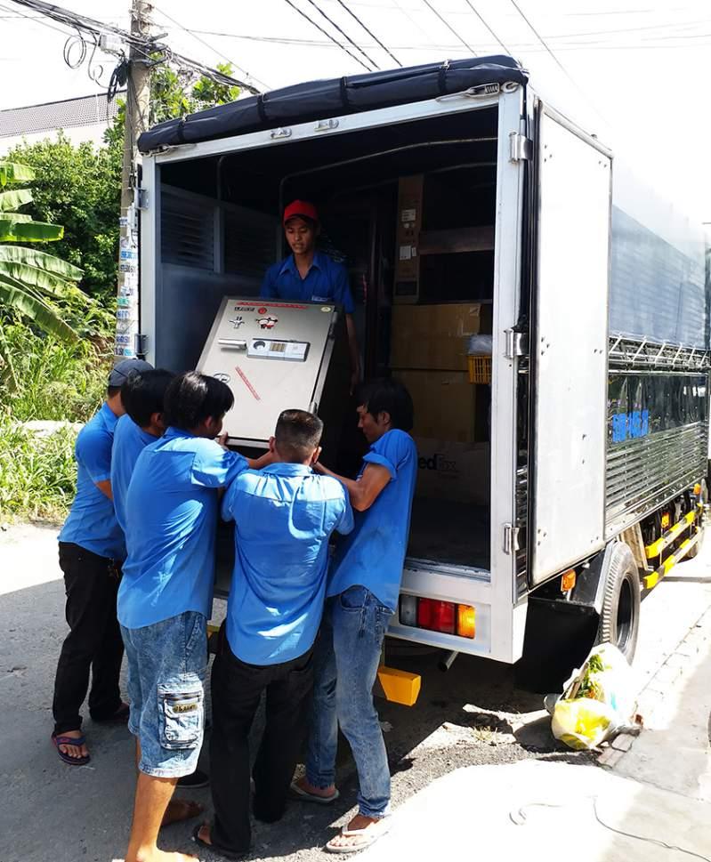 dịch vụ vận chuyển nhà, kho xưởng, văn phòng, taxi tải giá rẻ tp hcm Sài Gòn Xanh 7